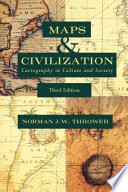 Maps and Civilization Free download PDF and Read online