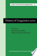 History of Linguistics 2002