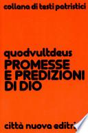 Promesse e predizioni di Dio