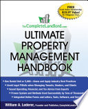The CompleteLandlord com Ultimate Property Management Handbook