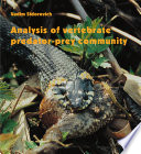 Analysis Of Vertebrate Predator Prey Community