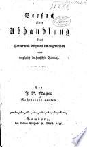 Versuch einer abhandlung über steuer und abgaben im allgemeinen d̤ann vorzüglich im hochstifte Bamberg ...