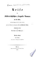 Reise der Österreichischen Fregatte Novara um die Erde in de Jahren 1857, 1858, 1859 unter den Befehlen des Commodore B. von Wüllerstorf-Urbair