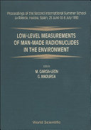 download ebook low-level measurements of man-made radionuclides in the environment pdf epub