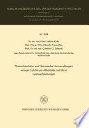 Photochemische und thermische Umwandlungen einiger Colchicum-Alkaloide und ihrer Lumiverbindungen