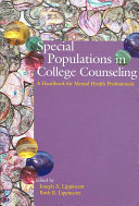 Special Populations In College Counseling