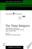 The Three Religions