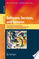 Software  Services  and Systems