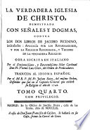 La verdadera Iglesia de Cristo, obra escrita en italiano