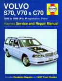 Volvo S70 V70 And C70 Service And Repair Manual