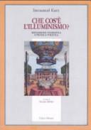 Che cos    l illuminismo  Riflessione filosofica e pratica politica