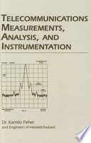 telecommunications-measurements-analysis-and-instrumentation
