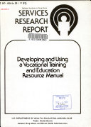 Developing and Using a Vocational Training and Education Resource Manual Book PDF