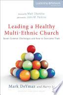 Leading A Healthy Multi Ethnic Church