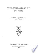 The Companions of St  Paul