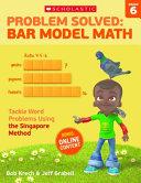 Problem Solved Bar Model Math  Grade 6