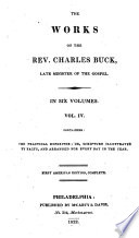 The Works Of The Rev Charles Buck Late Minister Of The Gospel