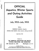 Aquatics Guide, with Official Rules and Swimming and Diving Standards
