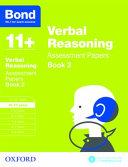 Bond 11   Verbal Reasoning  Assessment Papers