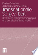 Transnationale Sorgearbeit