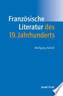 Franz  sische Literatur des 19  Jahrhunderts