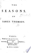 The seasons     A new edition     To which is prefixed An essay on the plan and character of the poem  by J  Aikin