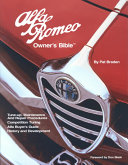 Alfa Romeo Owner S Bible