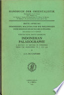 Indonesian Palaeography