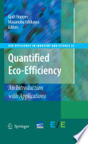 Quantified Eco Efficiency