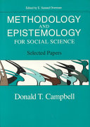 Methodology and Epistemology for Social Sciences