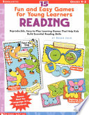 15 Fun and Easy Games for Young Learners Reading
