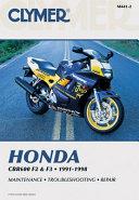 Honda CBR F2 and F3 1991 1998