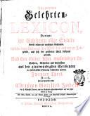 Allgemeines Gelehrten-Lexicon ...: D-L