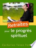 illustration du livre Retraites Pour le Progrès Spirituel
