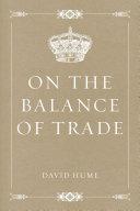 download ebook on the balance of trade pdf epub