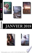 10 romans Black Rose  no458    462   Janvier 2018
