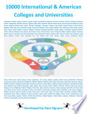 10000 International   American Colleges and Universities