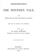 Shakespeare's The Winter's Tale