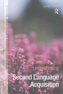 Understanding Second Language Acquisition : during our early years of...