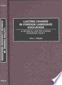 Lasting Change in Foreign Language Education