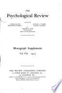 The Psychological Review Book PDF