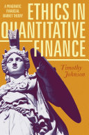 Ethics in Quantitative Finance