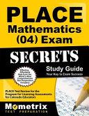 Place Mathematics  04  Exam Secrets Study Guide