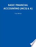 BASIC FINANCIAL ACCOUNTING  MCQ   A
