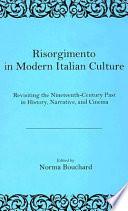Risorgimento in Modern Italian Culture