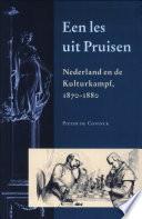 Een les uit Pruisen