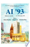 Ai '93 - Proceedings Of The 6th Australian Joint Conference On Artificial Intelligence