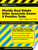 CliffsTestPrep Florida Real Estate Sales Associate Exam  5 Practice Tests