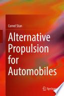 Alternative Propulsion For Automobiles book
