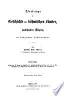 Schriften der historisch-statistischen Section der k.k. m. schl. Gesellschaft des Ackerbaues, der Natur und Landeskunde